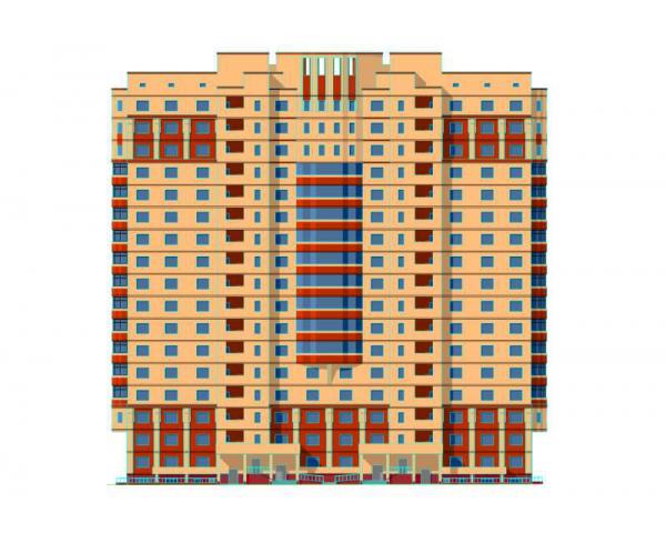 Дипломный проект пгс этажный х секционный кирпично  Дипломный проект пгс 17 этажный 2 х секционный кирпично монолитный жилой дом в г Купавна