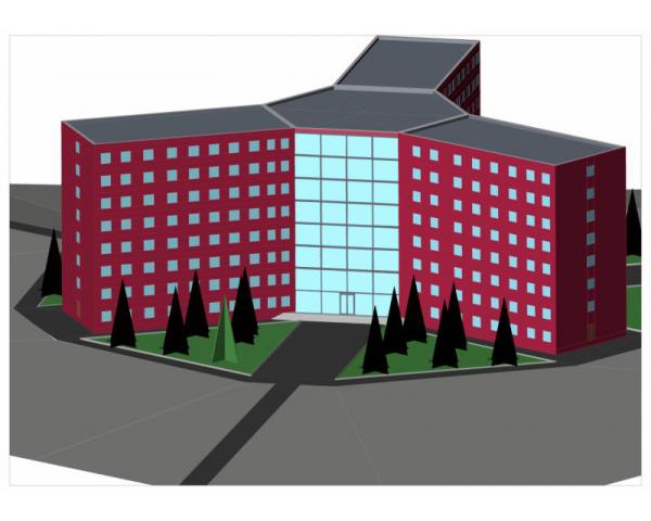 Дипломная работа на тему строительство по специальности пгс  Гостиница в г Нерюнгри