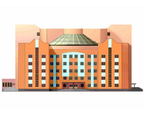 Купить готовый дипломный проект пгс на тему строительство здания  Дипломный проект пгс Поликлиника на 600 посещений в смену в г Кашира