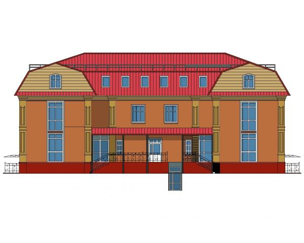 Дипломный проект пгс № Реконструкция здания под торговый центр в  Дипломный Проект пгс Реконструкция здания под торговый центр в г Шадринск