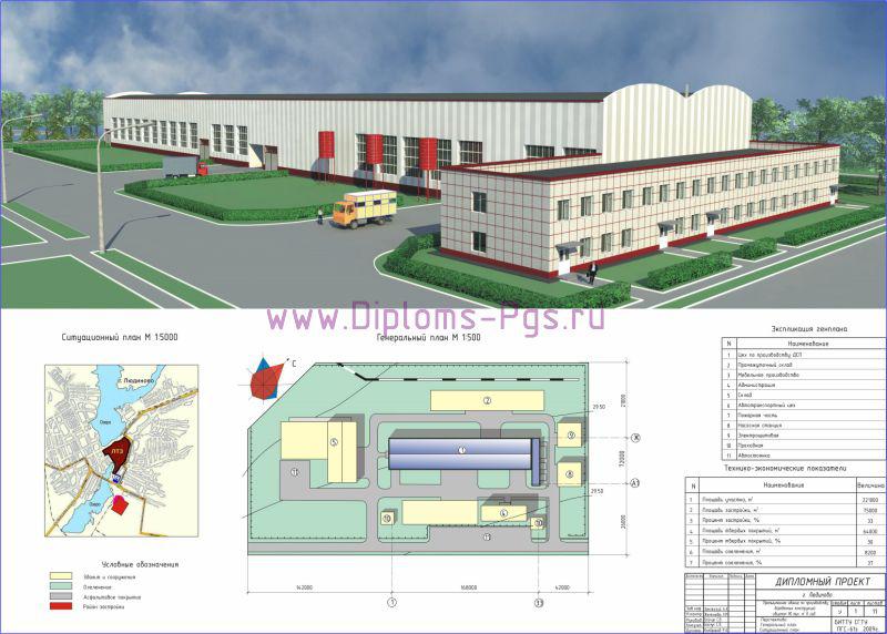 Дипломный проект по специальности пгс на тему Промышленное здание  увеличить