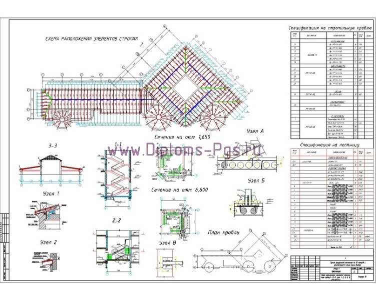 Дипломный Проект пгс: Гостиница на 20 номеров в стиле замка Шамбор в г. Чебоксары.